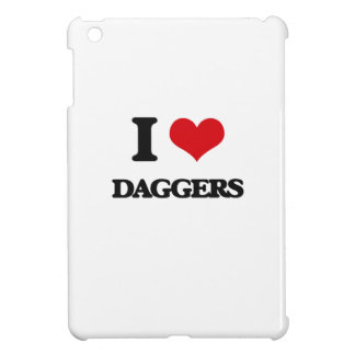 I love Daggers Case For The iPad Mini