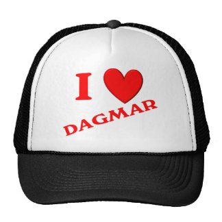 I Love Dagmar Trucker Hat