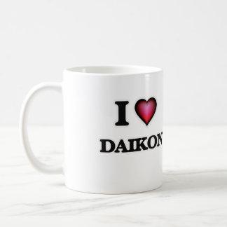 I Love Daikon Coffee Mug