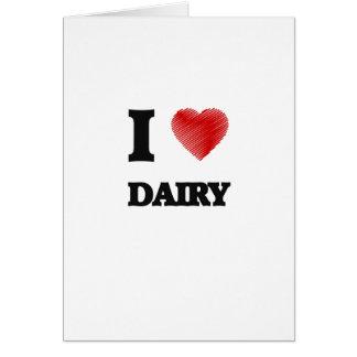 I love Dairy Card