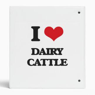 I love Dairy Cattle Binder