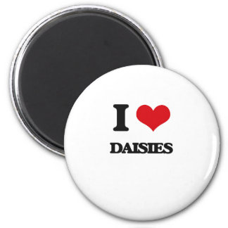 I love Daisies Magnets