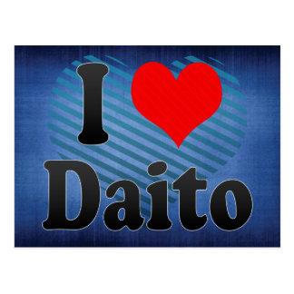 I Love Daito, Japan. Aisuru Daito, Japan Postcard