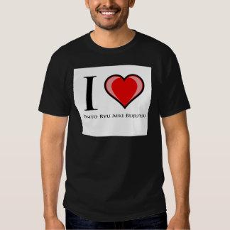 I Love Daito Ryu Aiki Bujutsu T Shirt