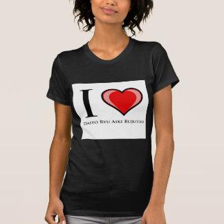 I Love Daito Ryu Aiki Bujutsu T-shirts