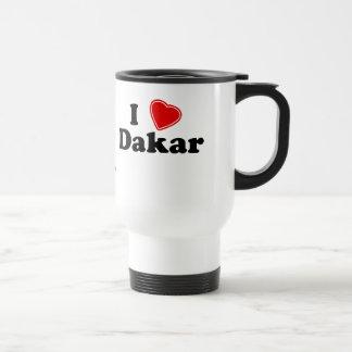 I Love Dakar Travel Mug