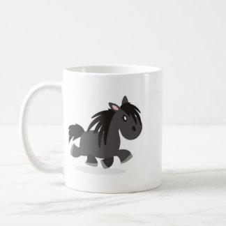 I Love Dales Ponies Cartoon Mug