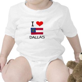 I Love DALLAS Georgia Bodysuits