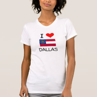 I Love DALLAS Georgia Tee Shirts