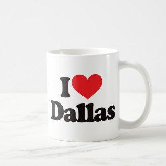 I Love Dallas Coffee Mugs