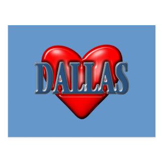 I love Dallas Texas Post Cards