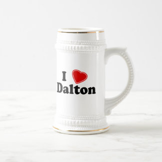 I Love Dalton Beer Stein