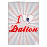 I Love Dalton, Massachusetts Card