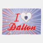 I Love Dalton, Massachusetts Kitchen Towels