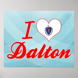 I Love Dalton, Massachusetts Print