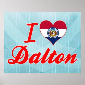 I Love Dalton, Missouri Print