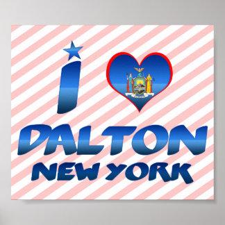 I love Dalton, New York Print