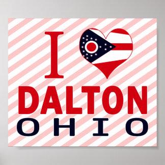 I love Dalton, Ohio Print
