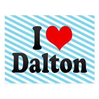I love Dalton Postcard