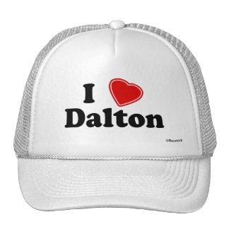 I Love Dalton Trucker Hat