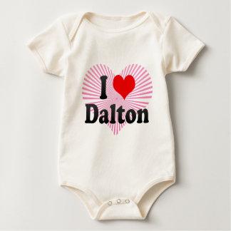 I Love Dalton, United States Baby Bodysuit