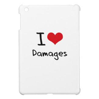 I Love Damages Case For The iPad Mini