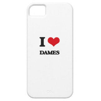 I love Dames iPhone 5 Covers