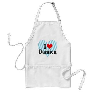 I love Damien Apron