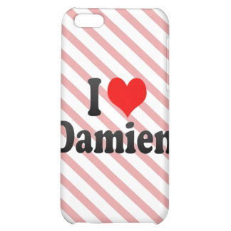 I love Damien Cover For iPhone 5C