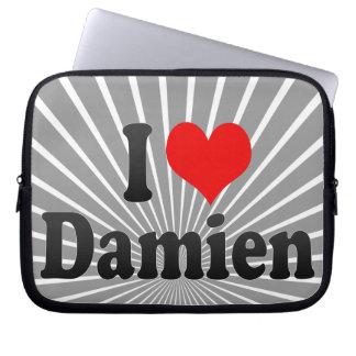 I love Damien Laptop Computer Sleeve