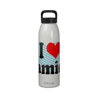 I love Damien Drinking Bottles