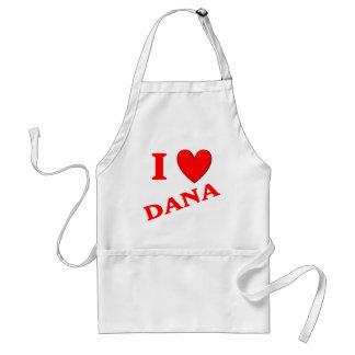 I Love Dana Adult Apron