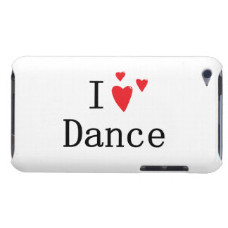 I Love Dance Barely There iPod Case