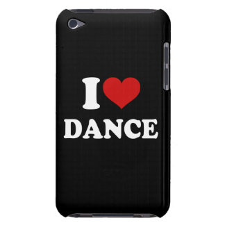I Love Dance Barely There iPod Cases