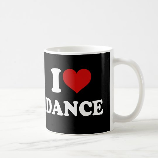 I Love Dance Coffee Mug