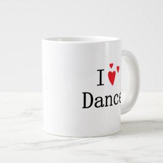 I Love Dance Giant Coffee Mug