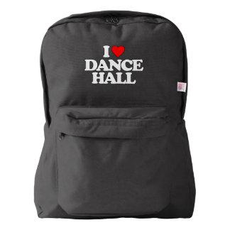 I LOVE DANCE HALL BACKPACK