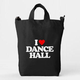 I LOVE DANCE HALL DUCK BAG