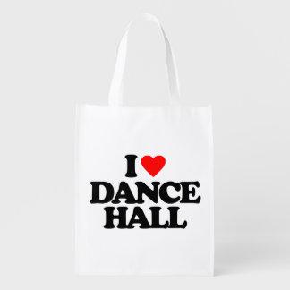 I LOVE DANCE HALL MARKET TOTE