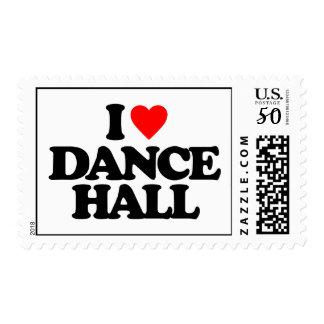 I LOVE DANCE HALL POSTAGE