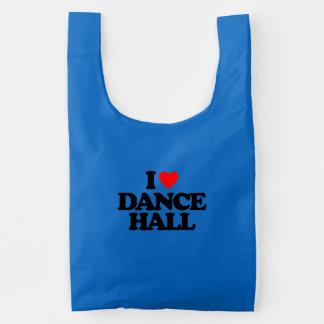 I LOVE DANCE HALL REUSABLE BAG