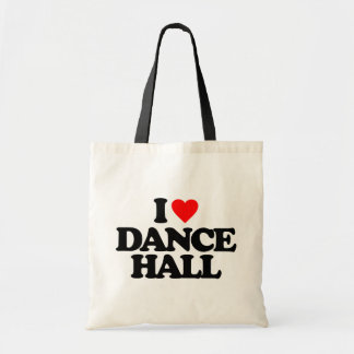 I LOVE DANCE HALL TOTE BAG