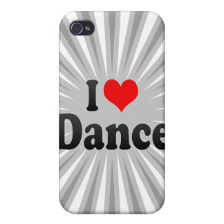 I love Dance iPhone 4/4S Covers
