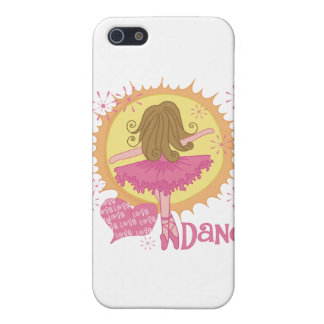 I Love Dance iPhone SE/5/5s Cover