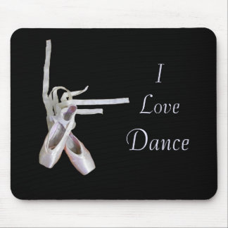 'I Love Dance' Mousepad