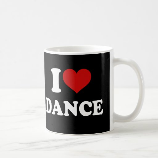 I Love Dance Mugs