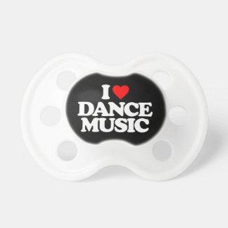 I LOVE DANCE MUSIC PACIFIER
