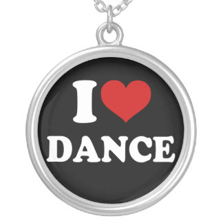 I Love Dance Custom Necklace