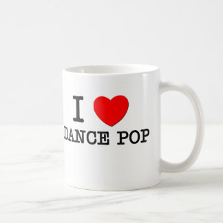 I Love Dance Pop Coffee Mug