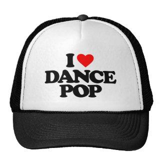 I LOVE DANCE POP TRUCKER HAT